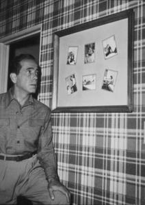 Humphrey Bogart, at home, circa 1949.MPTV - Image 0015_1180