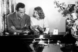 Humphrey Bogart and his third wife, Mayo Methot, at home, circa 1944.MPTV - Image 0015_1254
