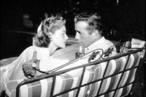Humphrey Bogart and Lauren Bacall at home, circa 1948.MPTV - Image 0015_1312
