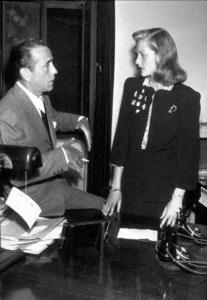 Humphrey Bogart and Lauren Bacall, circa 1945.MPTV - Image 0015_1317