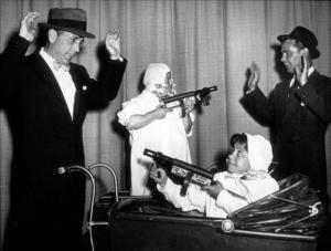 Humphrey Bogart and Alan Ladd, circa 1944.MPTV - Image 0015_1357