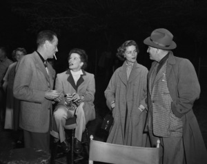 Humphrey Bogart, Katharine Hepburn, Lauren Bacall and Spencer Tracycirca 1950s** I.V. - Image 0015_1455