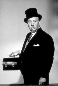 """Alfred Hitchcock on the set of""""Alfred Hitchcock Presents.""""1956/CBS. © 1978 Gene Trindl - Image 0017_0042"""