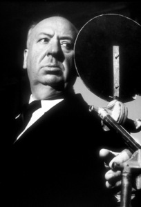 """Alfred Hitchcock on the set of""""Alfred Hitchcock Presents.""""1956/CBS. © 1978 Gene Trindl - Image 0017_0052"""