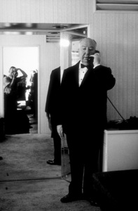 """Alfred Hitchcock on the set of""""Alfred Hitchcock Presents.""""1956/CBS. © 1978 Gene Trindl - Image 0017_0053"""