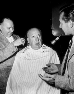 """Alfred Hitchcock on the set of""""Strangers On A Train.""""1950 Warner Bros - Image 0017_0364"""