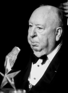 Alfred Hitchcock at the Life Achievement Awards. © 1979 CBSPhoto by Gabi Rona - Image 0017_0366