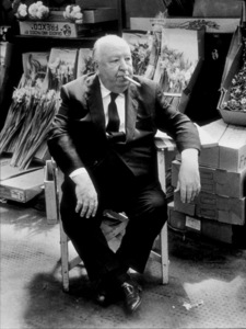 """Alfred Hitchcock on the setof """"Frenzy."""" © 1972 Universal - Image 0017_0371"""