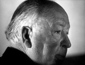 Alfred Hitchcock, c. 1975. © 1978 Larry Barbier - Image 0017_0386