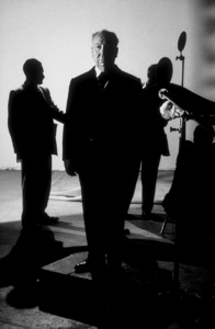 """Alfred Hitchcock on the set of""""Alfred Hitchcock Presents.""""January 12, 1956/CBS. © 1978 Gene Trindl - Image 0017_0507"""