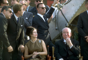 Alfred Hitchcock with Princess Margaret and Lord Snowdon circa 1965Photo by Ernest Reshovsky © 1978 Marc Reshovsky - Image 0017_2031