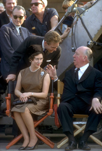 Alfred Hitchcock with Princess Margaret and Lord Snowdoncirca 1965Photo by Ernest Reshovsky © 1978 Marc Reshovsky - Image 0017_2032