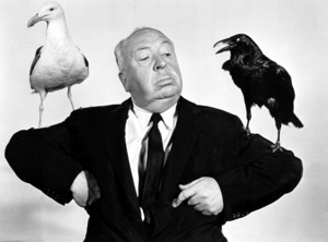 "Alfred Hitchcock publicity shot for""The Birds"" 1963 Universal / **I.V. - Image 0017_2035"
