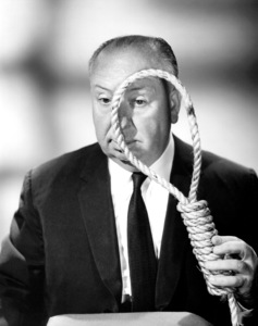 Alfred Hitchcock, late 1950