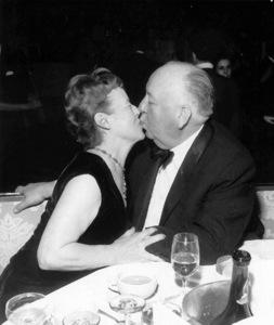 Alfred Hitchcock with Alma Hitchcockc. 1960 / **I.V. - Image 0017_2038