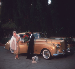Zsa Zsa Gabor at Home with her Rolls Royce1982 © 1982 Tom Kelley - Image 0018_0086