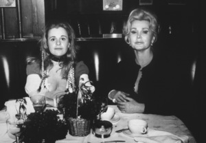 Zsa Zsa Gabor and daughter Francesca Hilton1964 - Image 0018_0160