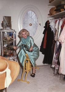 Zsa Zsa Gaborat home1974 © 1978 Wallace Seawell - Image 0018_0182