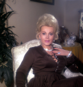 Zsa Zsa Gabor at Home1965 © 1978 Wallace Seawell - Image 0018_0261