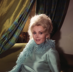 Zsa Zsa Gabor at home1965 © 1978 Wallace Seawell - Image 0018_0263