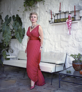 Zsa Zsa Gabor at home1958 © 1978 Sid Avery - Image 0018_0301