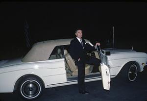 Prince Frederic von Anhalt and his Rolls Royce Corniche1983 © 1983 Gunther - Image 0018_0304