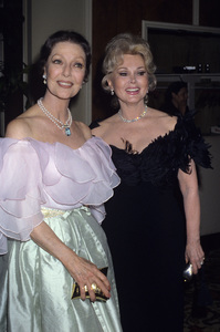Zsa Zsa Gabor and Loretta Young 1981 © 1981 Gary Lewis - Image 0018_0311