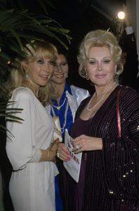 Zsa Zsa Gabor and Barbara Edencirca 1980s© 1980 Gary Lewis - Image 0018_0315