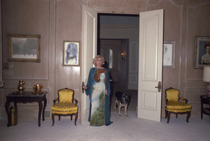 Zsa Zsa Gabor at home1974© 1978 Wallce Seawell - Image 0018_0335