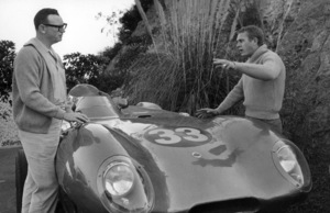 Steve McQueen with his Lotus Type 11 1960 © 1978 Sid Avery - Image 0019_0251