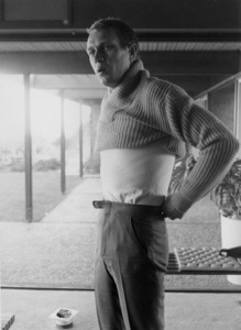 Steve McQueen at home on Solar Drive in the Hollywood Hills1960© 1978 Sid Avery - Image 0019_0253