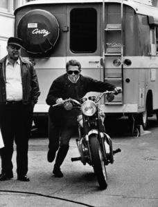 "Steve McQueen in ""Bullitt""1968 Warner Bros.Photo by Mel Traxel - Image 0019_0302"