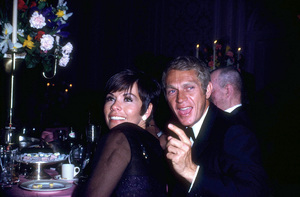 Steve McQueenwith wife Neile at the Academy AwardsC. 1967 © 1978 David SuttonMPTV - Image 0019_0307