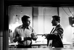 "Steve McQueenwith Robert Vaughn in ""Bullitt""1968 Warner Bros.MPTV - Image 0019_0765"