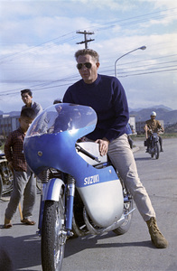"Steve McQueen in Japan during the filming of ""The Sand Pebbles"" 1966 © 1978 Ted Allan"