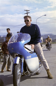 """Steve McQueen in Japan during the filming of """"The Sand Pebbles""""1966© 1978 Ted Allan - Image 0019_0801"""