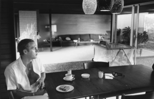 Steve McQueen at his Hollywood Hills home on Solar Drive1960 © 1978 Sid Avery - Image 0019_0857