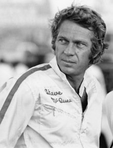 Steve McQueen at the racetrack1969© 1978 Larry Kastendiek - Image 0019_0872