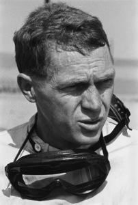 Steve McQueen at the Riverside Raceway in Riverside, CA1966 © 1978 Chester Maydole - Image 0019_0893