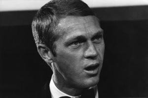 """Steve McQueen at the Egyptian Theatre in Hollywood, CA for the premiere of """"My Fair Lady""""1964 © 1978 Chester Maydole - Image 0019_0895"""