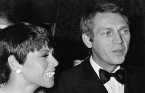 "Steve McQueen and wife Neile Adams at ""The Sand Pebbles"" premiere1966 © 1978 Chester Maydole - Image 0019_0897"