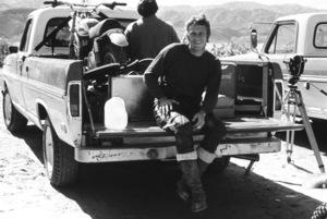 Steve McQueen dirt bike racing at Indian Dunescirca 1970 © 1978 Chester Maydole - Image 0019_0901