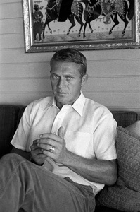 Steve McQueen at home on Solar Drive in the Hollywood Hills circa 1963 © 1978 David Sutton - Image 0019_0908