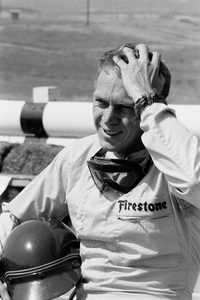 Steve McQueen at the Riverside Raceway in Riverside, CA1966 © 1978 Chester Maydole - Image 0019_0918