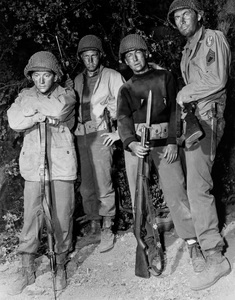 """""""Hell Is for Heroes""""Bobby Darin, Steve McQueen, Nick Adams, Fess Parker1962 Paramount Pictures** I.V. - Image 0019_0943"""