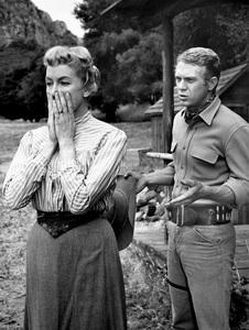 """Wanted: Dead or Alive""Virginia Gregg, Steve McQueencirca 1958** I.V. - Image 0019_0981"
