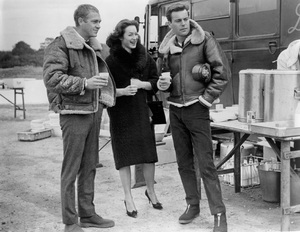 """""""The War Lover""""Robert Wagner, Steve McQueen, Shirley Anne Field1962 Columbia Pictures** I.V. - Image 0019_0998"""