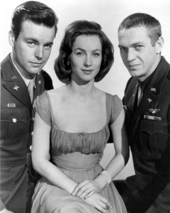 """""""The War Lover""""Robert Wagner, Steve McQueen, Shirley Anne Field1962 Columbia Pictures** I.V. - Image 0019_0999"""