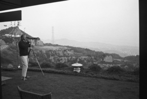 Steve McQueen at his Hollywood Hills home on Solar Drive1960© 1978 Sid Avery - Image 0019_1008