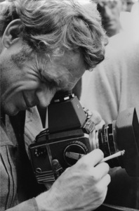 Steve McQueen taking a photograph with a Bronica camera1966 © 1978 Chester Maydole - Image 0019_1029
